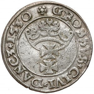 Zygmunt I Stary, Grosz Gdańsk 1530 - rzadki