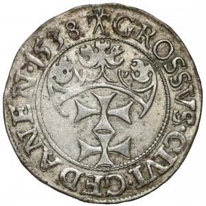 Zygmunt I Stary, Grosz Gdańsk 1538