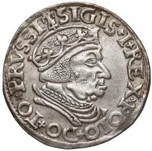 Zygmunt I Stary, Trojak Gdańsk 1537 - nowy typ