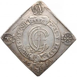 Niemcy, Saksonia, Klipa talarowa Drezno 1693