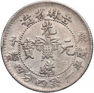 Chiny, Kirin, 20 cents (1900) -