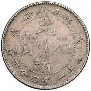 Chiny, Kiangnan, 20 cents (1898)