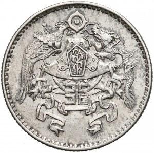 Chiny, Republika, 20 centów rok 15 (1926) - rzadka moneta