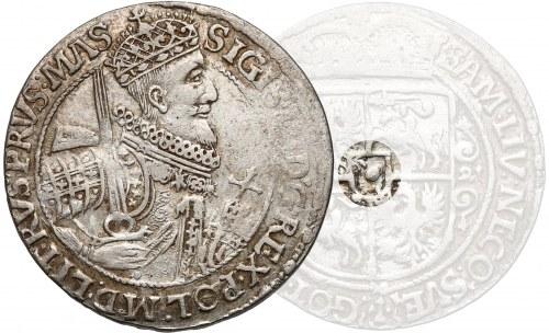 Zygmunt III Waza, Ort Bydgoszcz 1621 - BEZ Snopka - RZADKOŚĆ