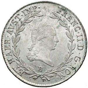 Austria, 20 krajcarów 1806-B