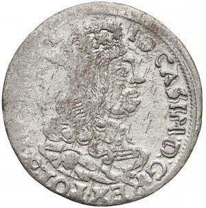 Jan II Kazimierz, Trojak Kraków 1662 AT - rozety