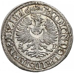 Śląsk, Sylwiusz Fryderyk, 3 krajcary Oleśnica 1676 SP