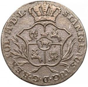 Poniatowski, Półzłotek 1769 I.S.