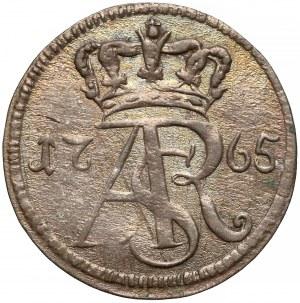 Poniatowski, Trojak Toruń 1765 SB