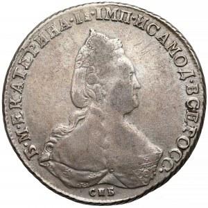Rosja, Katarzyna II, Rubel Petersburg 1790 ЯА