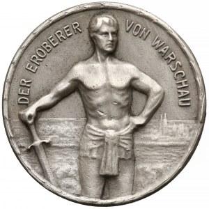 Niemcy, Leopold Bawarski, Medal za zdobycie Warszawy (1915)