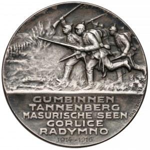 Niemcy, Generał Francois, Medal za zdobycie Gorlic, Radymna...