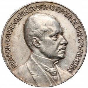 Niemcy, Prof. Rausenberger, Medal twórcy działa paryskiego