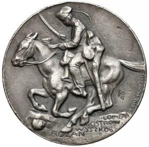 Niemcy, Generał Gallwitz, Medal za zdobycie Łomży, Ostrowa...