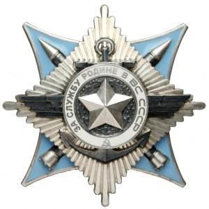 ZSRR Order Za służbę Ojczyźnie w Siłach Zbrojnych III Klasy