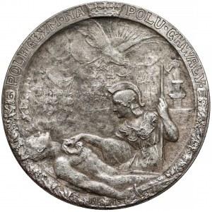 Medal Poległym na Polu Chwały 1916 (Lewandowski)