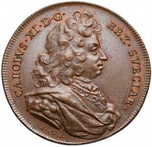 Szwecja, Medal suity Hedlingera, Karol XI