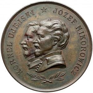 Medal Kornel Ujejski i Józef Nikorowicz 1893