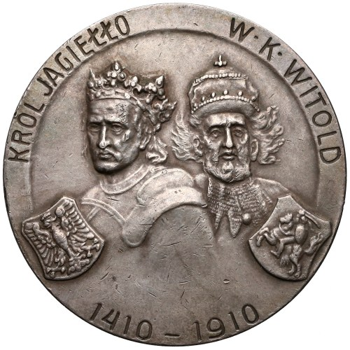 Medal SREBRO Bitwa Pod Grunwaldem 1910 (Czaplicki)