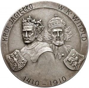 Medal Bitwa Pod Grunwaldem 1910 (Czaplicki)