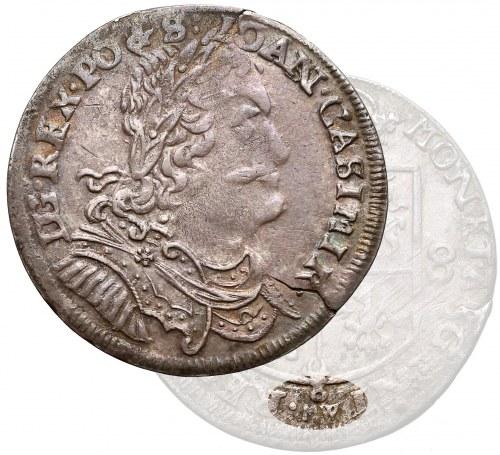 Jan II Kazimierz, Ort Wschowa 1653 - M W osobno - RZADKOŚĆ