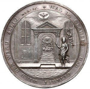 Niemcy, Medal chrzcielny XVIII/XIX wiek