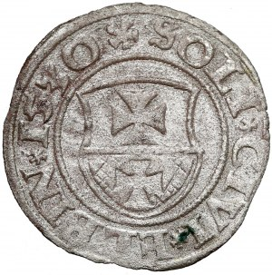 Zygmunt I Stary, Szeląg Elbląg 1530 - rzadszy