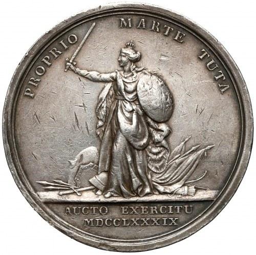 Poniatowski, Medal pomnik króla Sobieskiego 1789 r. (Loos)