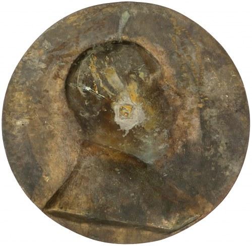 Belgia, OLBRZYMI Medalion (50 cm!) Burmistrzowi, Dr. Moreaux (Soudeyns, Vogel)