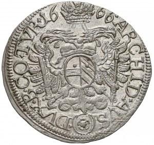 Austria, Leopold I, 3 krajcary 1666-*
