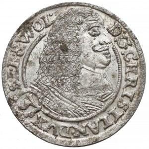 Śląsk, Jerzy III Brzeski, 3 krajcary Brzeg 1662