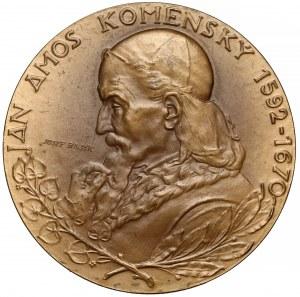 Czechy, Medal - Jan Ámos Komenský 1970 (Josef Bajak)