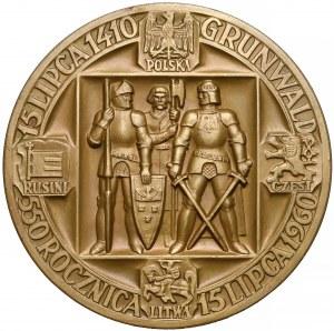 Medal 550 rocznica Bitwy pod Grunwaldem 1960 (W. Kowalik)