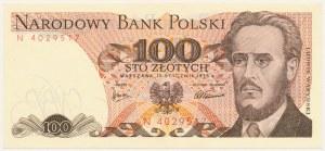 100 złotych 1975 - N