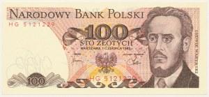 100 złotych 1982 - HG