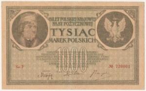 1.000 mkp 05.1919 - Ser.F nr 720001