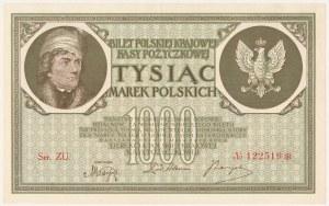 1.000 mkp 05.1919 - Ser.ZU