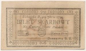 4 złote 1794 - (2)(H)