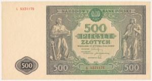 500 złotych 1946 - L