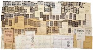 Biuletyny Numizmatyczne 1965-1999 duży zestaw (155szt)