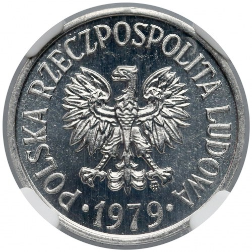 20 groszy 1979 - proof like - NGC MS65+ PL
