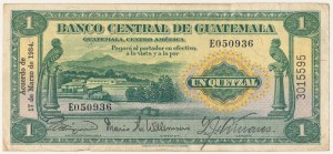 Gwatemala, 1 quetzal 1934