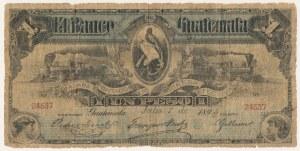 Gwatemala, 1 peso 1895