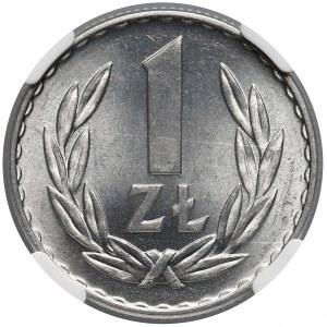 1 złoty 1949 Al - NGC MS66