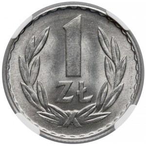 1 złoty 1965 - NGC MS66