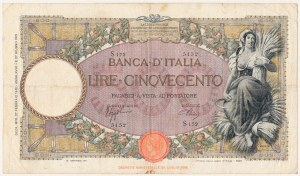 Włochy, 500 lire 1940