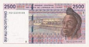 Afryka Zachodnia, BCEAO, 2.500 francs (1992)