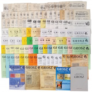 Grosz, 1985-2017 (1-151) zestaw 123 numerów