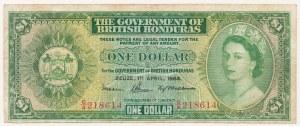 Honduras Brytyjski, 1 dollar 1964