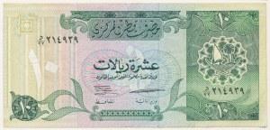 Katar, 10 riyals